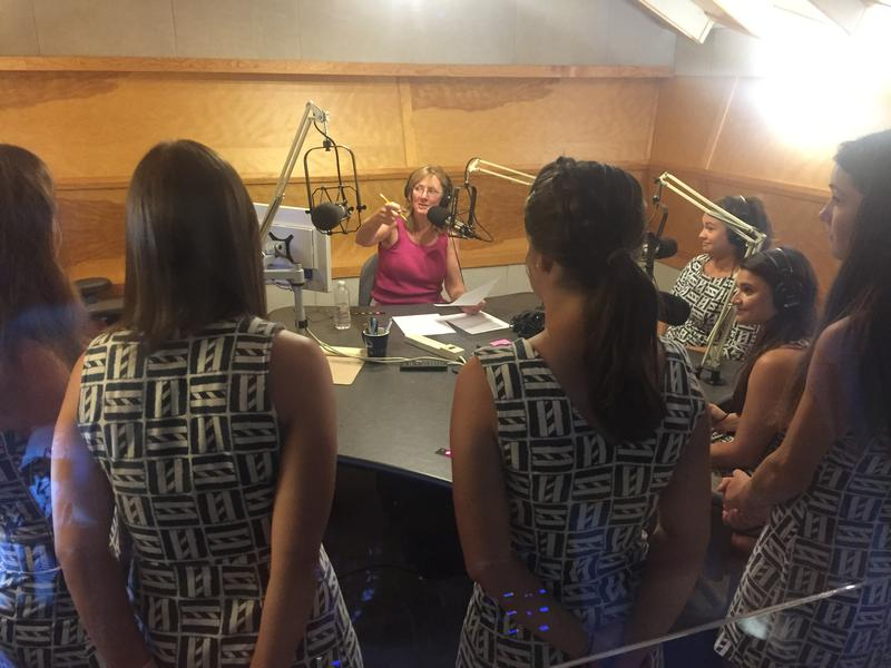 Cape Harmony in Studio with Mindy Todd