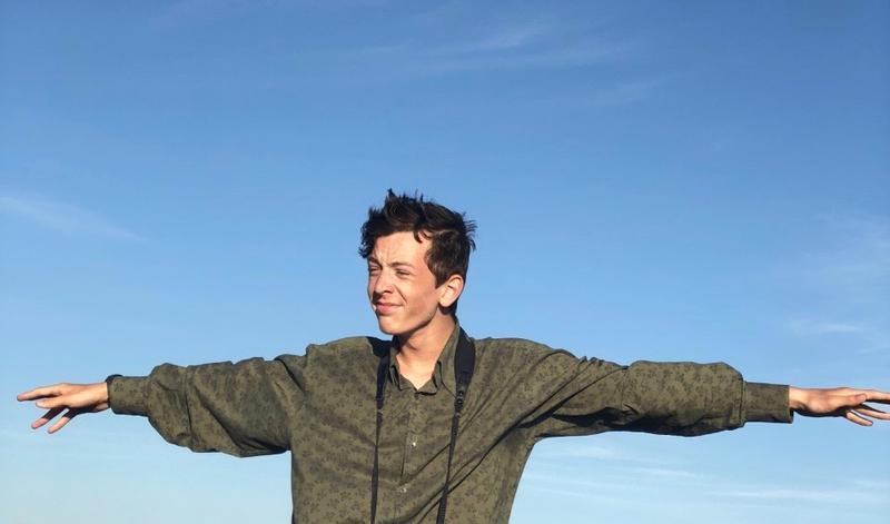 Skyler Kardell at Milestone Cranberry Bog