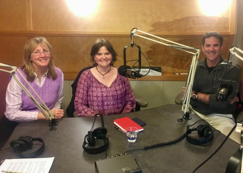 Mindy Todd, Michelle Cusolito Bruce Strickrott in the Point Studio