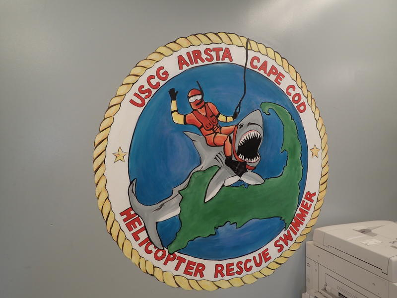 Logo for the Cape Cod Rescue Swimmers