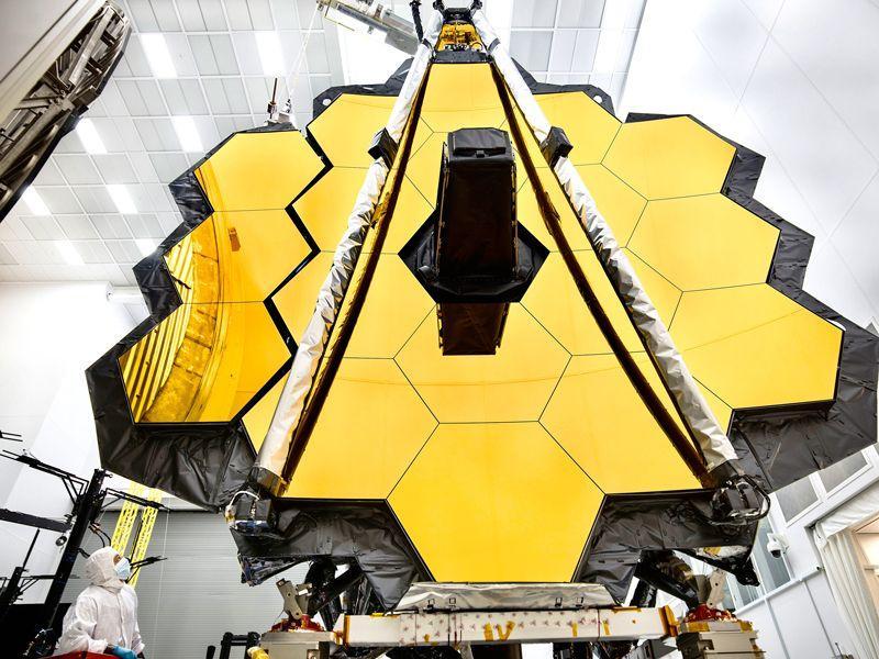 The James Webb Space Telescope.