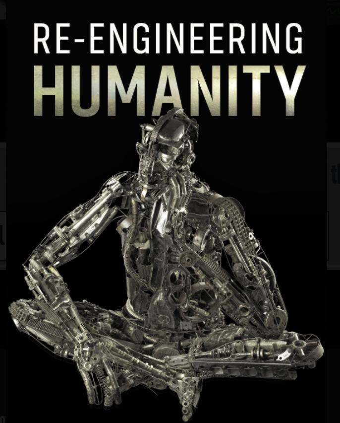 """Re-engineering Humanity"" is about how information technology is making us act like machines."