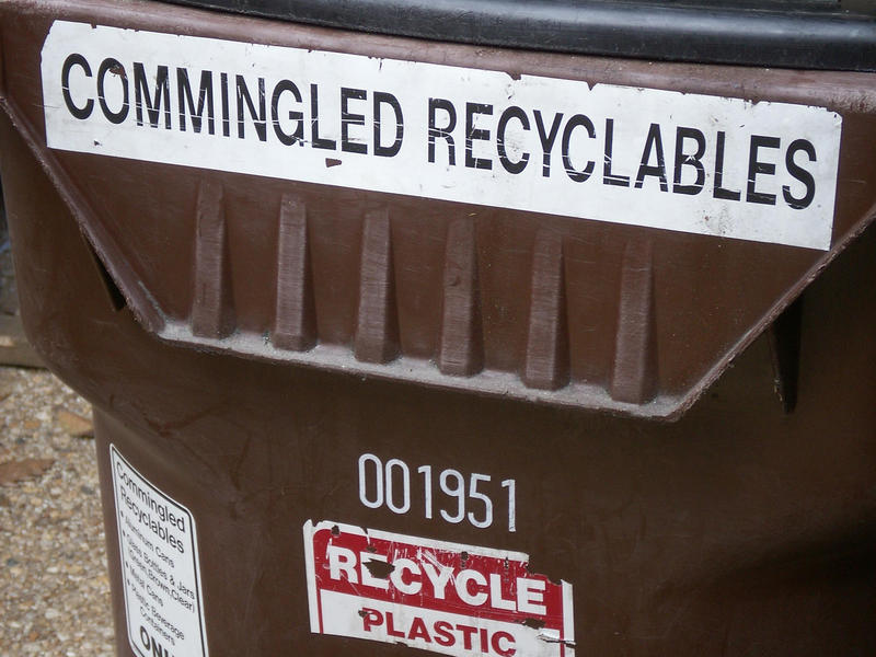 Nearly three-quarters of Americans have access to curbside recycling pick up.