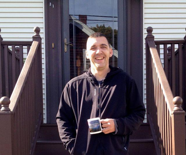 Shawn Harnish in front of his mother's Salem home. A decade ago, Harnish publically described his descent from private school kid to desperate opiate addict. In this follow-up, reporter Sean Corcoran searches for Shawn, asking, is he still alive?