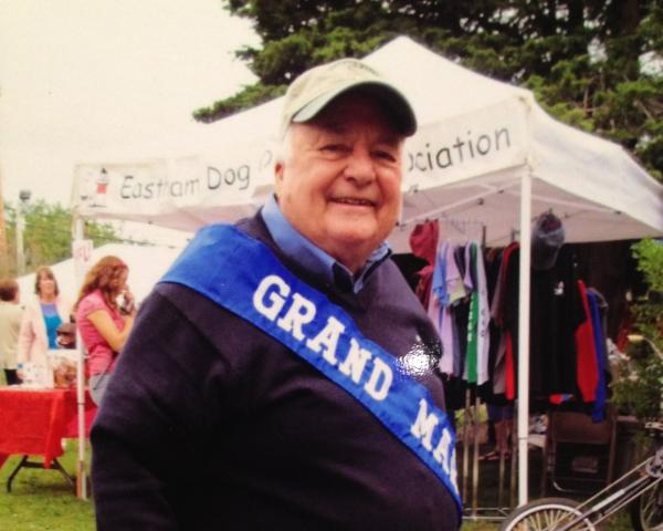 After 10 years of organizing the annual Eastham Windmill Weekend Parade, last year Dowman was named the parade's Grand Marshall.