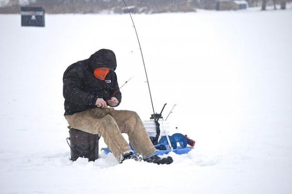 Does this look like fun? While we still have a couple of nice fall months to fish, the prospect of winter angling is not so cheery to contemplate...