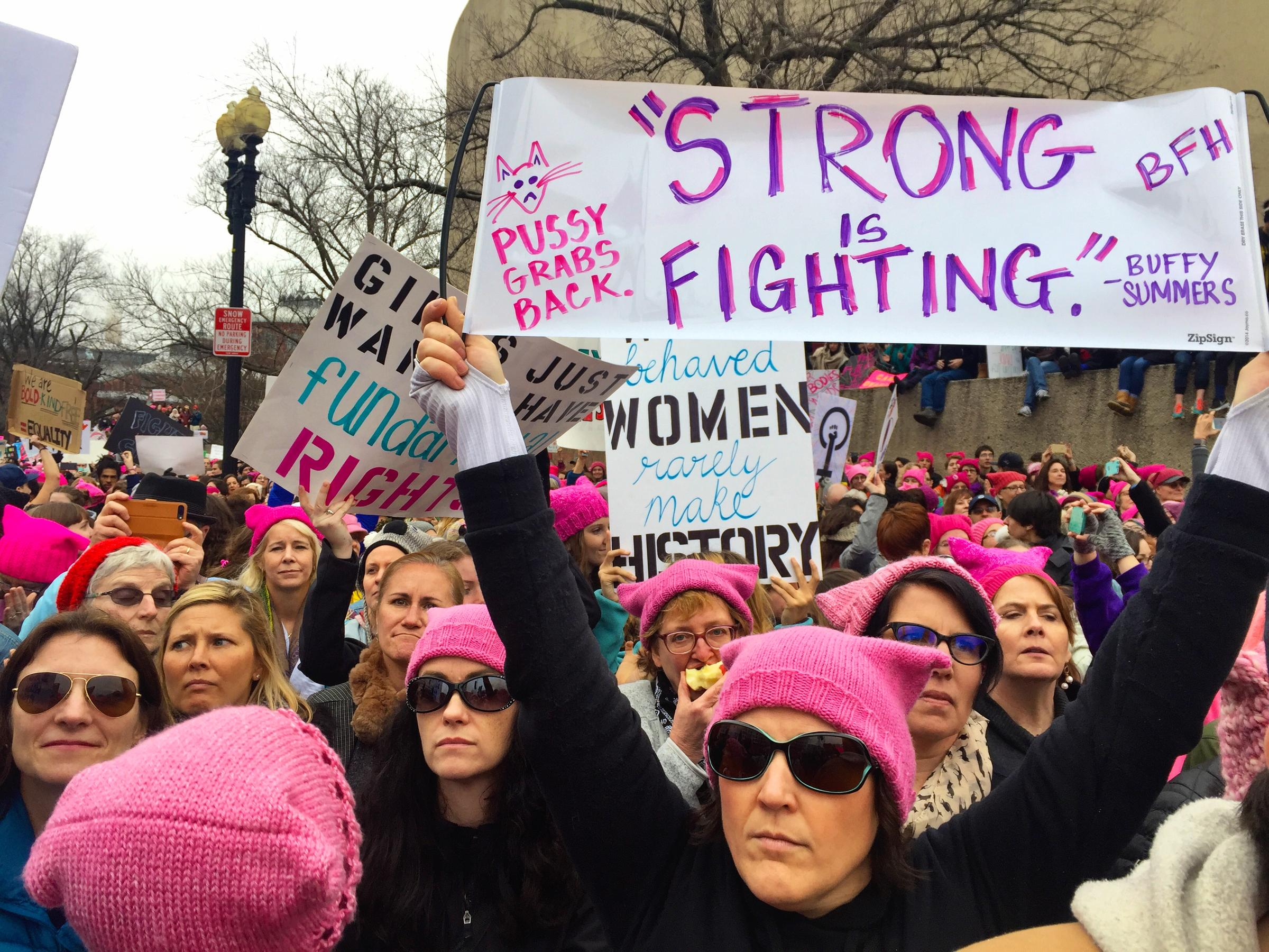 What I Learned at the Women's March on Washington