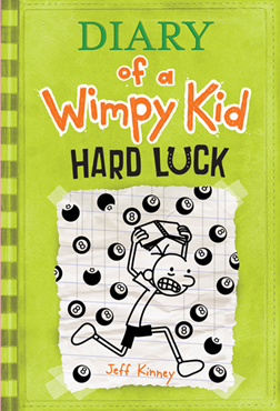 Cover image for Diary of a Wimpy Kid: Hard Luck