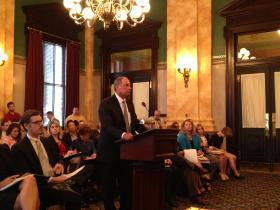 Aramark Correctional Services President John Hanner Speaks With Ohio Lawmakers