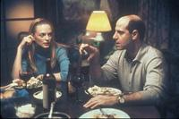 "Heather Graham and Stanley Tucci in ""Sidewalks of New York\"""