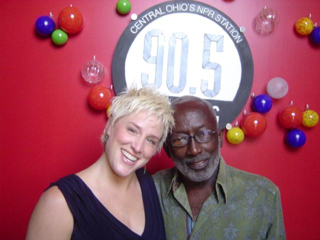 Shadowbox's Katy Psenicka and Garrett Morris at WCBE