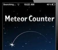 NASA's Meteor Counter App