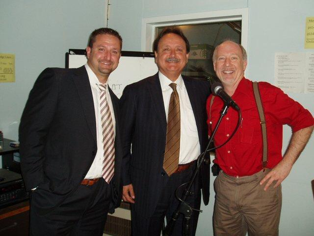 (from left to right) Joe Chornyak Jr.,  Joe Chorynak Sr., Dan Mushalko