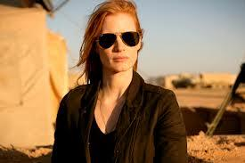Jessica Chastain in cool aviators