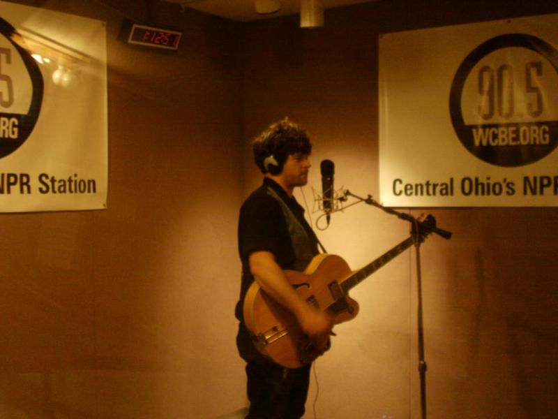 Jesse Dee from his Live from Studio A performance yesterday, April 17th at WCBE!