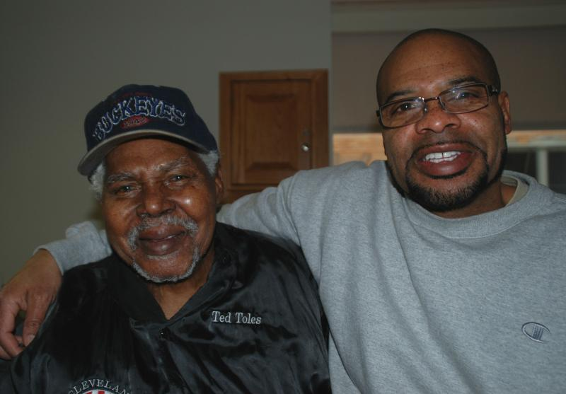 87-year-old Ted Toles, Jr. and his son, Ted, the third