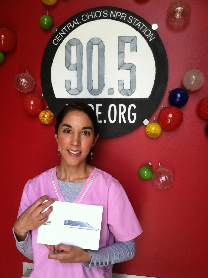 Rachel Clark wins our second iPad Mini Giveaway of the drive.