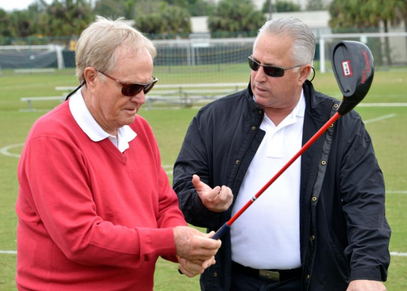 Jack Nicklaus and SNAG's Terry Anton