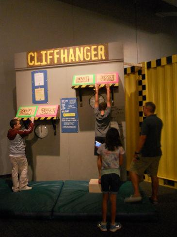 Cliffhanger activity