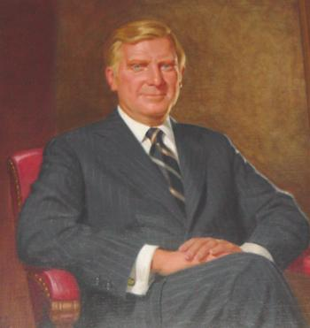 Official Gilligan portrait at the Ohio Statehouse
