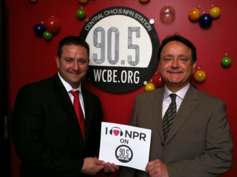 Joe Jr. & Joe Sr. of Chornyak & Associates love WCBE!
