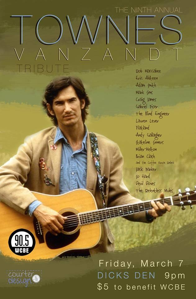 Townes Van Zandt Tribute and Benefit for WCBE!
