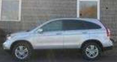 The vehicle involved is a silver 2011 Honda CRV with OH plate number RF53986. Similar vehicle pictured