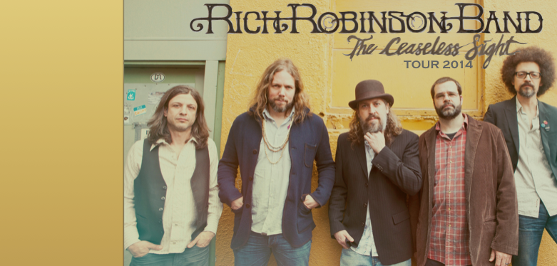 WCBE Presents Rich Robinson Band Live From Studio A