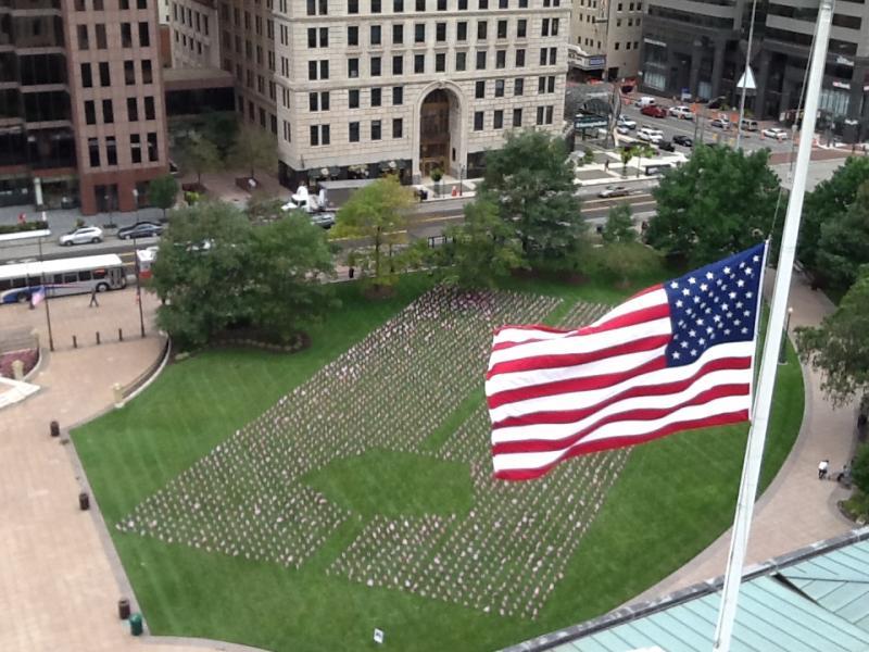 9/11 Memorial Display