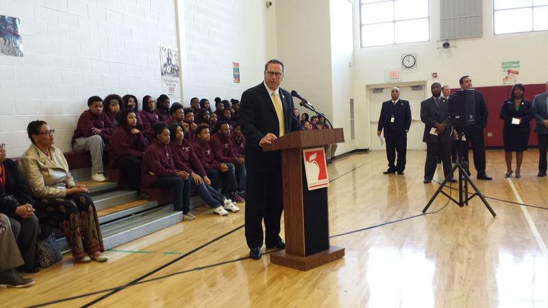 Columbus City Schools Superintendent Dan Good