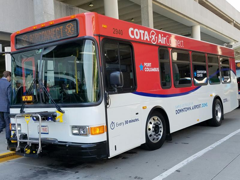 COTA's AirConnect Bus