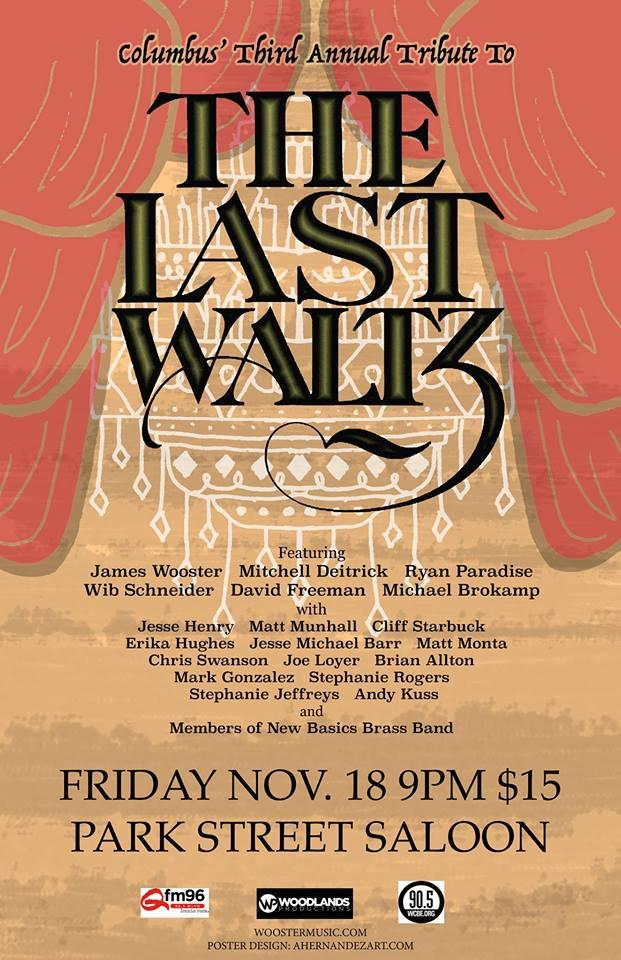 The Last Waltz Event Graphic