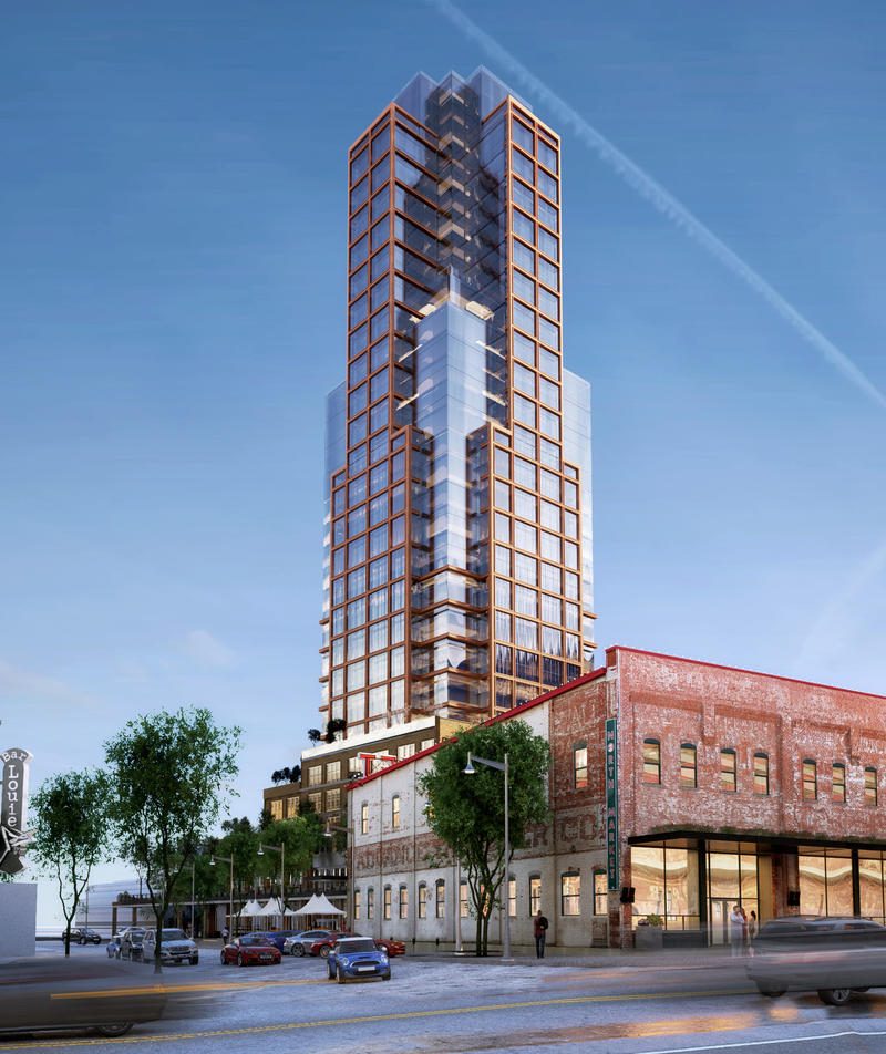 Rendering from Park and Spruce
