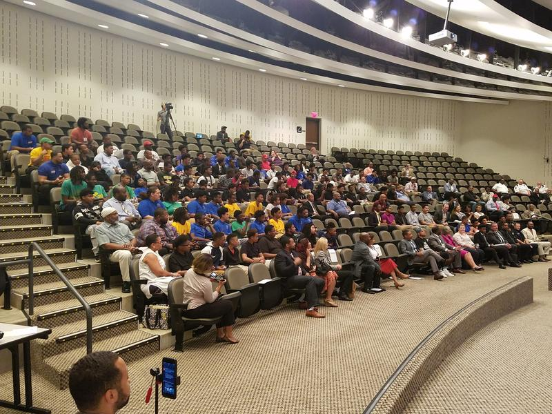 Students gather for the MBK summit