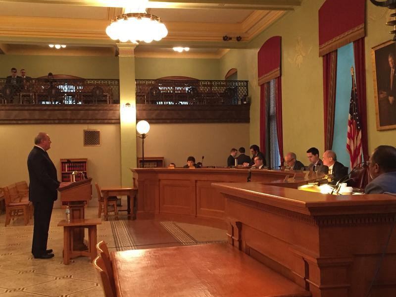 FirstEnergy CEO Chuck Jones speaks to Ohio lawmakers