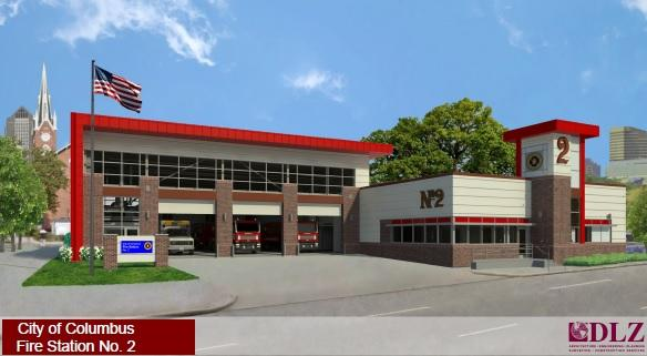 new columbus fire station honors late firefighter wcbe 90 5 fm