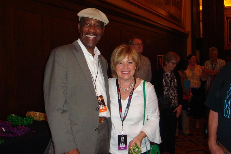 Jack and Tri-C Jazz Fest Director Terri Pontremoli
