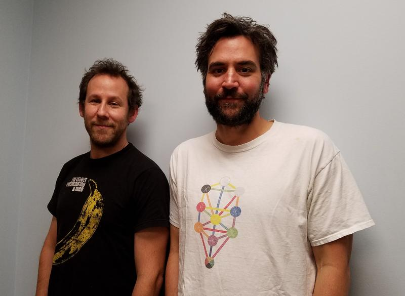 Ben Lee and Josh Radnor at WCBE
