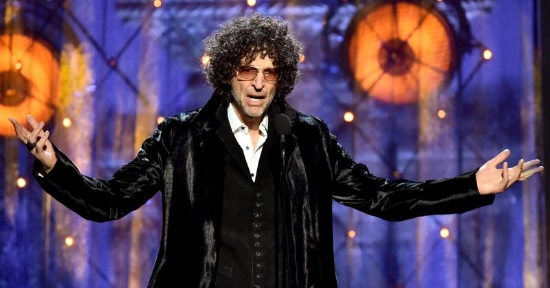 Howard Stern inducted Bon Jovi