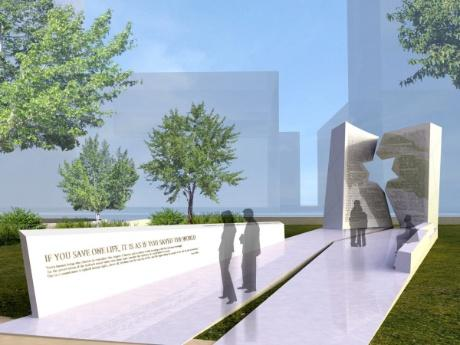 Proposed stattehouse Holocause Memorial