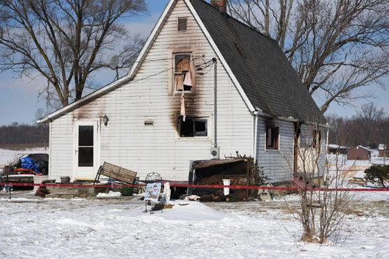 Man, daughter die in house fire