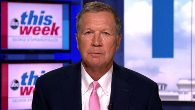 John Kasich: GOP Candidate Said He Didn't Invite Trump To Ohio Rally