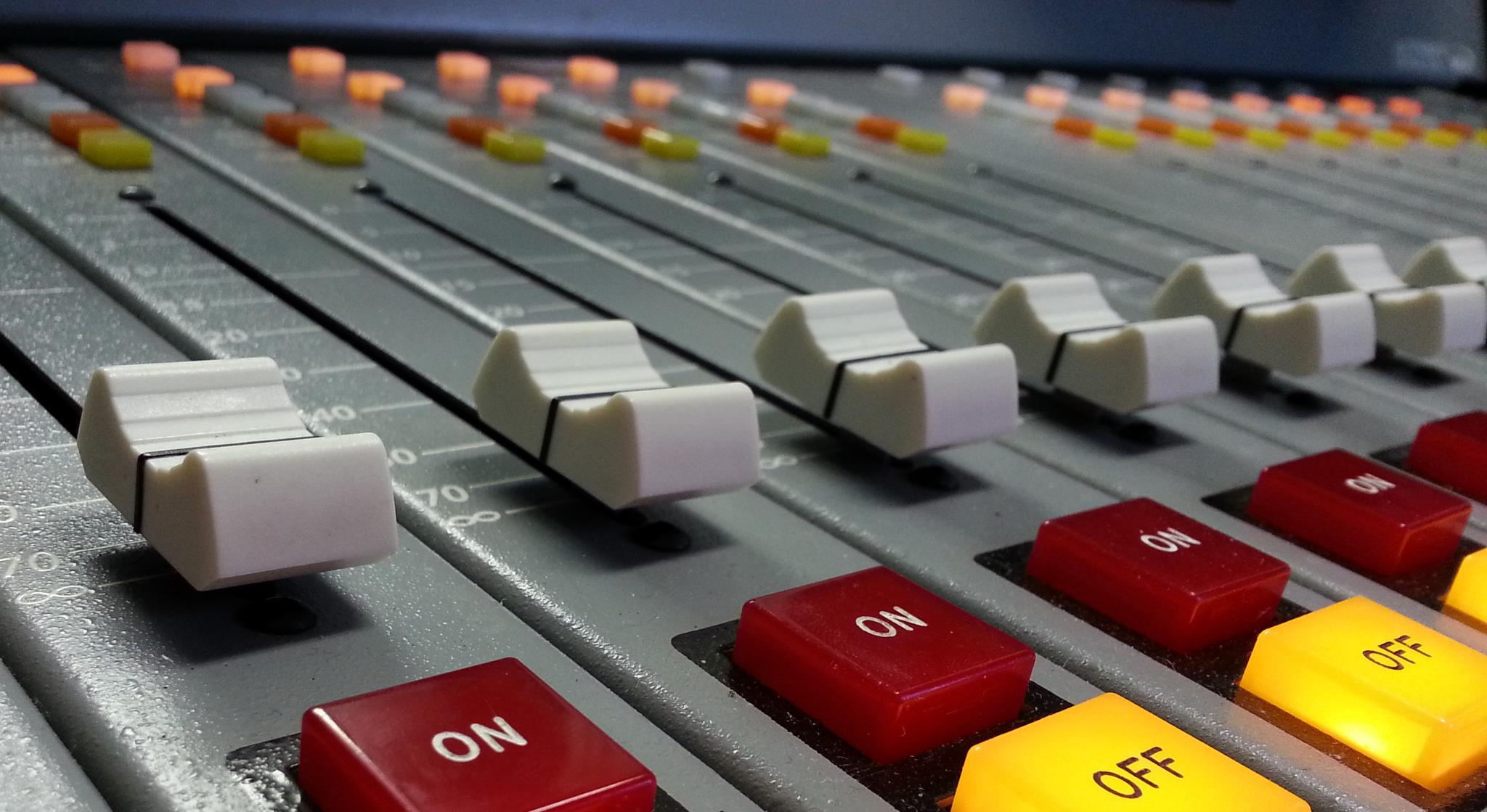Radio Station Console Radio Station Licensed to