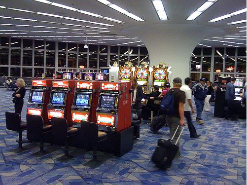 Casino airport gambling vs investing