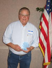 Karl Stach, 2012 Volunteer of the Year