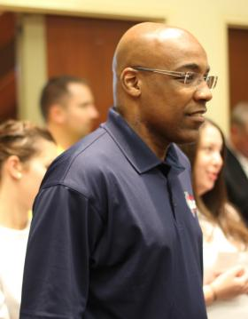State Sen. Kwame Raoul watched candidate speeches from the back of the room at the Democratic County Chairmen's Association annual brunch earlier this month in Springfield. He was considering a run for governor at the time, but on Thursday said he will not seek the office.