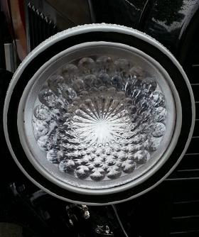 The headlamp of a 1916 Hudson...or  a work of art?