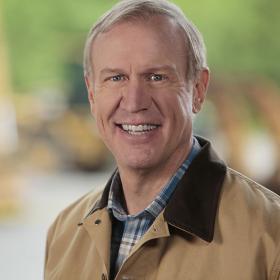 GOP gubernatorial candidate Bruce Rauner.