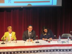 GOP candidates for Lt. Governor participate in debate.