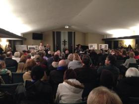 About 200 people attended the PHA's first meeting on potential sites for Taft Homes.
